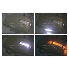 Toyota Alphard 02-05 Mirror Cover with Light Bar & LED Foot Lamp