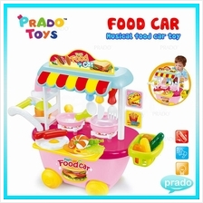 PRADO Electronic Kitchen Toys Fast Food Car Role Pretend Play Toy Kids