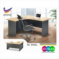 E3 Series SL552 L/R Office Computer Writing Study L Shape Table
