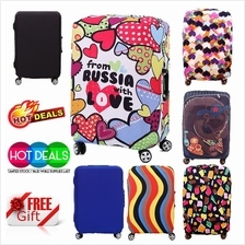 4 Design Stretchable Elastic Travel Suitcase Protector Luggage Cover
