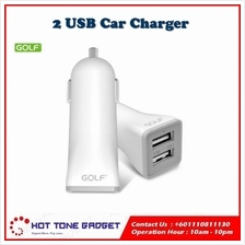 GOLF Dual Usb 5V 2A In Car Charger