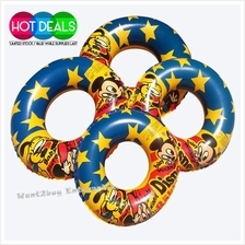 Children Kids Adult Swimming Ring Mickey Mouse Equipment Amusement