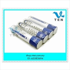 BTY AAA 1000 Rechargeable Ni-MH Dry Battery for LED Flashligh Toy