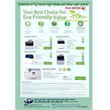 Promotion of Fuji Xerox high volume  colour laser printer