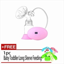 Silicone Electric Suction Breast Nursing Pump Feeding Bottle