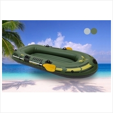 Portable Inflatable Boat Double Thicken Water Sport Boat 2 Person PVC
