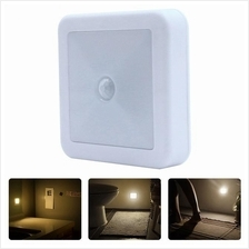 Wireless Motion Sensor Cabinet Wall LED Lights USB Rechargeable Batter