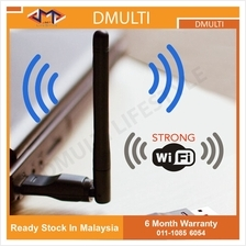 Strong WiFi antenna Wireless USB adapter Receiver dongle Network Card