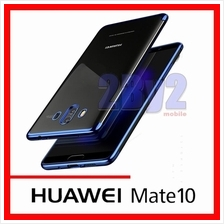 Plating luxury transparent back TPU Huawei Mate10 Mate 10 case cover