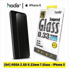 [Ori] HODA Series 2.5D 0.3mm Tempered Glass for iPhone X (Clear)
