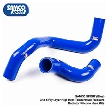HONDA B16 SAMCO SPORT Blue 3 to 5 Ply Layer Silicone Hose Kits
