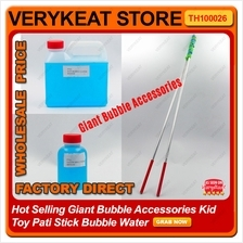 Hot Selling Giant Bubble Accessories Kid Toy Pati Stick Bubble Water