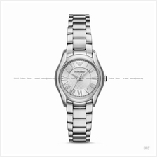 EMPORIO ARMANI AR11087 Women's Valente 3-hand SS Bracelet Silver