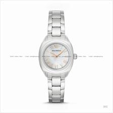 EMPORIO ARMANI AR11037 Women's Dress Watch 2-hand Bracelet White MOP
