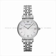 EMPORIO ARMANI AR1682 Women's Classic 2-hand SS Bracelet White MOP