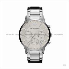 EMPORIO ARMANI AR2458 Men's Sportivo Chronograph SS Bracelet Silver