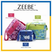 ZEEBE Large Insulated Thermal Lunch Box Warm Cooler Food Bag CL670