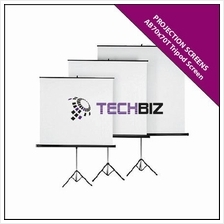 AB70x70T Tripod Screen (Portable & Foldable)