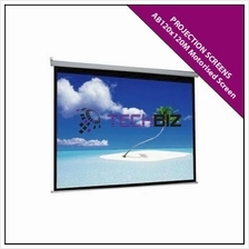 AB120x120M Motorised Screen