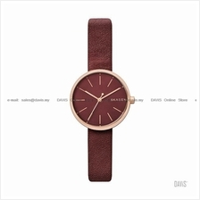 SKAGEN SKW2646 Women's Signatur 3-hand Interchange Leather Maroon