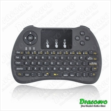 H9 Mini Wireless Keyboard 2.4GHZ Air Mouse Touchpad Smart TV Box Proje