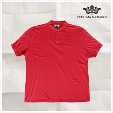 EXTREMA BIG  & TALL CollarPolo T-Shirt EXP2271 (Camelia Rose)