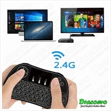 P9 Mini Wireless Keyboard 2.4GHZ Air Mouse Touchpad Smart TV Box Proje
