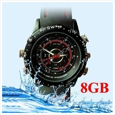 ★ 8GB Waterproof Watch Camera, 1280x960 (DVR-11S8GB)