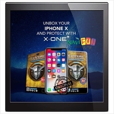 ★ X-One Extreme/ FULL Shock Eliminator Screen Protector iPhone X