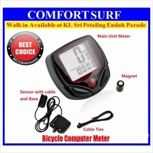 WaterProof LCD Stopwatch Bike Meter Bicycle Computer Meter Speedometer