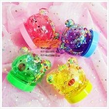 Animal Sequin Star Crystal Slime 4pcs/set