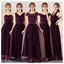 171101 ELFBOUTIQUE Korean Designed Dinner Gown Long Dress Long Gown Pu