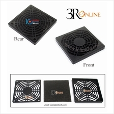 PVC 80mm 8cm Washable Dust Filter CPU Fan Grill Finger Guard Protector PC Comp