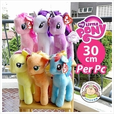 TY My Little Pony Beanie Buddies Soft Plush Toy Doll (30cm Per Pc)