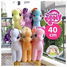 TY My Little Pony Beanie Buddies Soft Plush Toy Doll (40cm)
