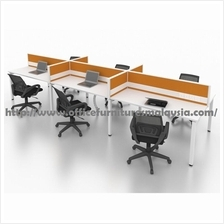 6ft Office Modern Cubicle Partition 6 Table Set OFMN61875 Kepong PJ