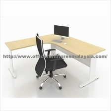 6ft x 6ft Office L Shaped Manager Table JL1818 Meja Pejabat Shah Alam