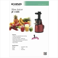 New KHIND JE150S JuiceExtractor with unique low speed