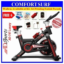 ADSports AD-747 Luxury Top Home Gym / Fitness Spinning Exercise Bike