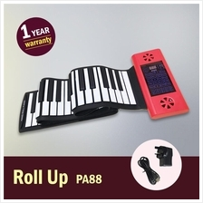 [Rechargeable & Ready Stock] Flexible Roll Up Piano PA88 (88keys)