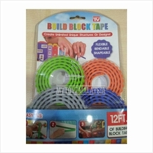 As Seen On TV: Building Blocks Tape (3ft x 4)