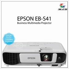Epson EB-S41 3LCD SVGA 3300 lumens Portable Projector (Old EB-S31)