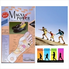Magna Power Magnetic Massage Insoles,Now 10 Magnets for Amazing Health