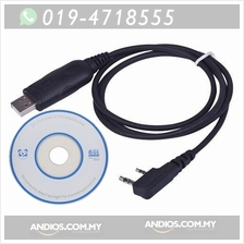 USB Programing Cable Program Software CD for Baofeng UV-5R BF-888S Rad