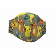 Pokemon Cloth Mask for Children Protects from Cold & Haze