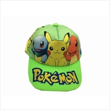 Limited Edition Pokemon Cap for Children Green