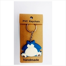 LIMITED EDITION POKEMON SNORLAX KEYCHAIN PVC