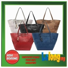 MNG MANGO CROCO SHOPPER TOTE LEATHER BAG HANDBAG