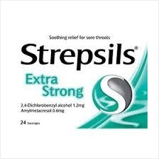 STREPSILS EXTRA STRONG 24S X 5