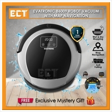Evatronic B6009 Map Navigation Robot Vacuum Cleaner with Water Tank,We